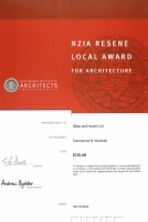 NZIA Resene Local Award